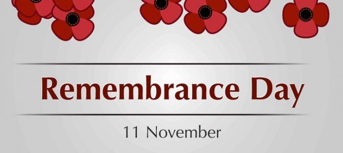 Bury St Edmunds Remembrance Day Parade